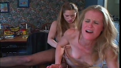 Two Lesbians. Mature And Young Who Use..