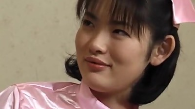 Takako nurse in stockings gets orgasms..