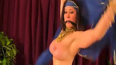 Sexy Busty Milf Belly Dancer