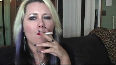 Sexy smoking wife
