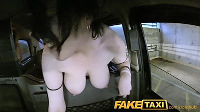 FakeTaxi Facial piercings make good..