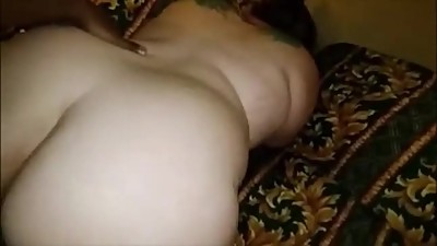 Interracial Amateur BBW Sex..