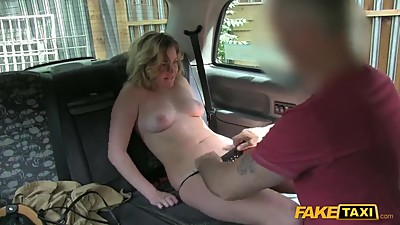 Fake taxi Young British girl gets..