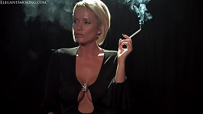 Lucy Zara - Elegant Smoking