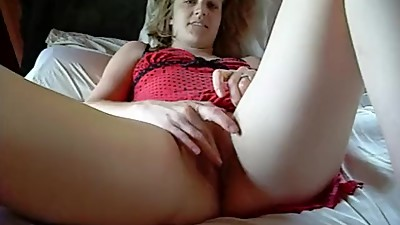 Blonde Milf gets her pussy fucked by..