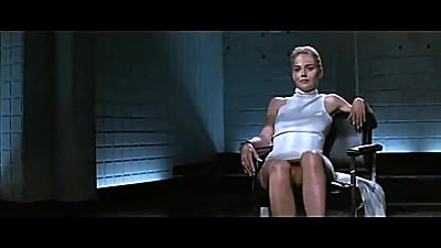 BASIC INSTINCT - Sharon Stone Hot Leg..