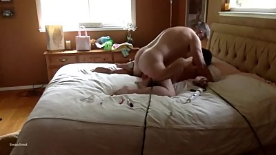 Morning of sex with mistress round 1