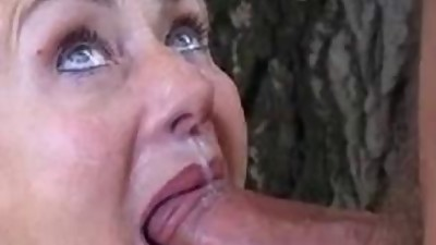German Mature With Great Oral Skills..