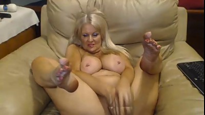 blonde mature pierced tits toying wet..