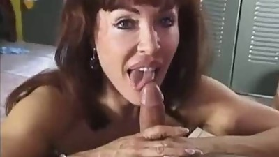 Cougar Sucks Cock Down On Her..