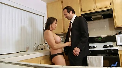 Jillian Foxxx Pounded in Kitchen
