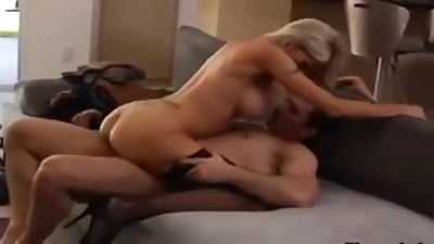 Blonde milf with nice tits gets fucked