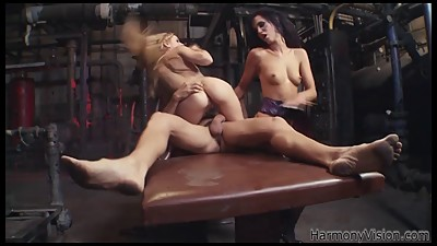 HARMONY VISION Stunning Babe Threesome..