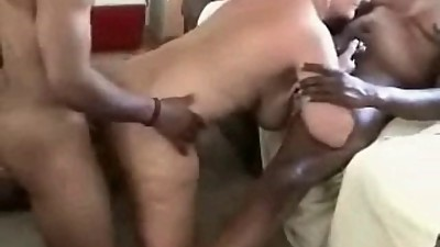 Cuckold MILFs enjoy big black cock..