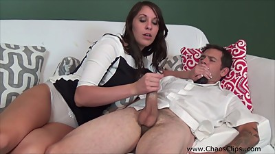Hot Wife Amiee Cambridge Jerks Off..