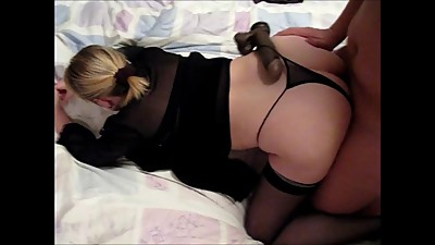 the landlord playing with my wife pussy