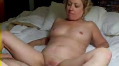 Pervert wife masturbating in front of..