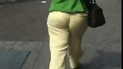 Yellow Bottom milf booty