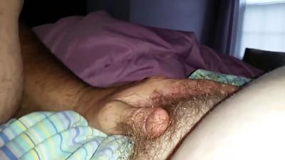 rubbing my lips & kissing my wifes..