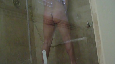 shower masturbation milf bathroom..