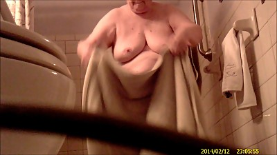 Grandma Takes A Shower 2