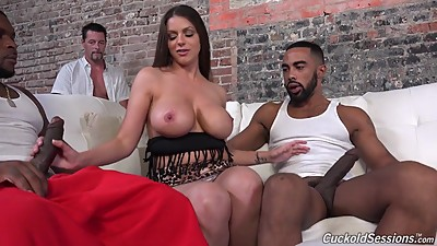 Busty mother Brooklyn creampied by..