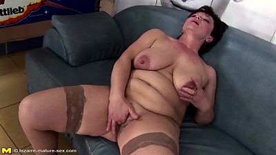Kinky mature not mother gets fisting..