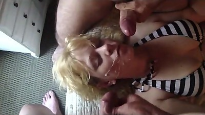 Mature Double Facial