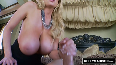 KELLY MADISON Titty Licking Good Cumshot