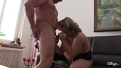 Reife Swinger - Intense foursome with..