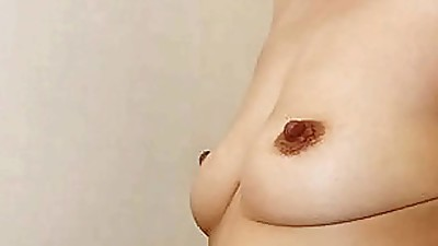 Wank for Japanese Yumiko Saggy Tits