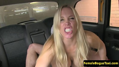 London female cabbie spoils client..