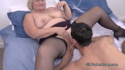 Mature insurance seller sex with..