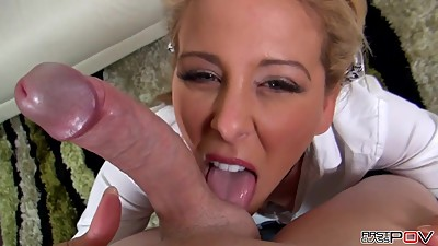Cherie DeVille receiving a Mega Facial
