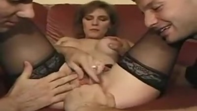 British mature Wendy gangbang and squirt