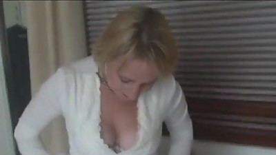Busty Milf In Retro Underwear And..