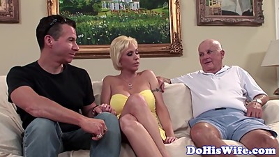Real milf anally banged in front of..