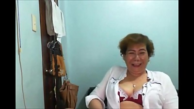 Elen Valdez mature Pinay from Manila..