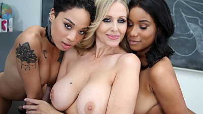 Lesbian Honey Gold, Jenna Foxx and..