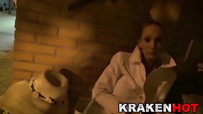 Krakenhot Daniela Evans in a exclusive..
