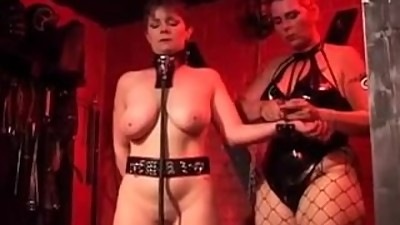 Mistress and her milf slave 1