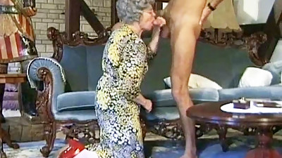 German Granny Can't Wait To Fuck..