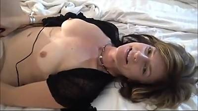 Sporty milf takes on two guys and her..